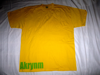 """Simple"" Tall tee Green/Yellow-4XLT"